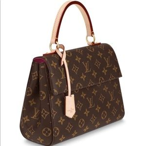 Louis Vuitton Cluny BB handbag/ pink monogram